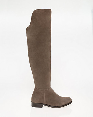 Le Château Suede Round Toe Over-the-Knee Boot