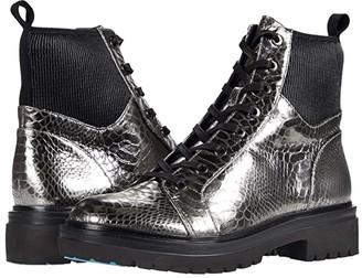 Kenneth Cole New York Rhode Light Lace-Up (Gunmetal Metallic) Women's Boots