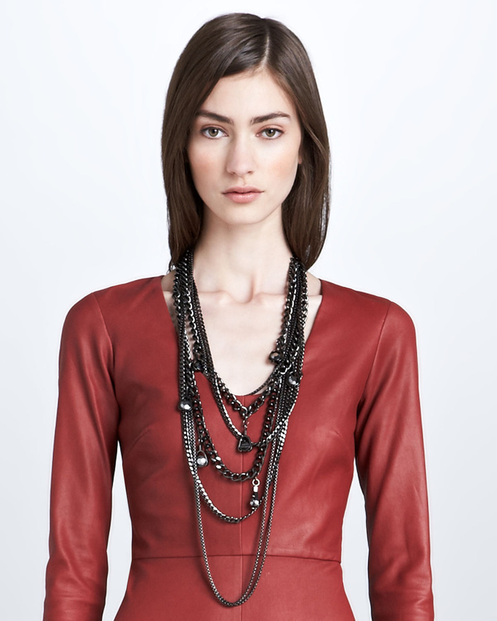 Robert Rodriguez Five-Chain Necklace