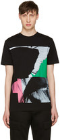 McQ by Alexander McQueen Black Wings Collage Classic T-Shirt