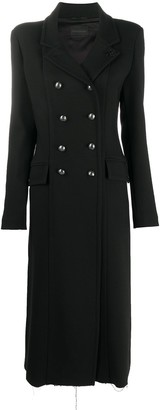 Diesel Black Gold Double-Breasted Wool Coat