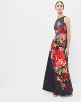 MARICO Juxtapose Rose maxi dress