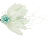 Monsoon Flowers & Feathers Hair Clip