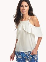 Ella Moss Stella Flutter Cold Shoulder Top