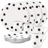 Kate Spade all in good taste Deco Dot 12-Pc. Set, Service for 4