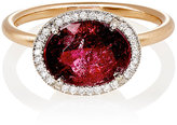 Irene Neuwirth Women's Mixed-Gemstone Oval-Faced Ring