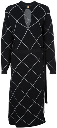 Proenza Schouler Wrap Dress