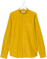 Dondup Kids mandarin neck shirt