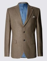 Marks and Spencer Luxury Pure Cashmere 2 Button Jacket
