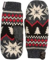 Muk Luks Snowflake Nordic Mittens (For Women)