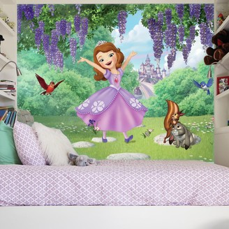Mural Roommates Disney Sofia the First Friends & Garden Wall by RoomMates