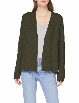 Herrlicher Women's Xenja Structured Woll Cardigan Sweater