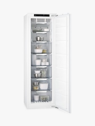 AEG 6000 ABB818F6NC Integrated Freezer, A+ Energy Rating, 55.6cm Wide, White
