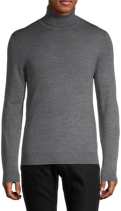Saks Fifth Avenue Merino Wool-Blend Turtleneck Sweater