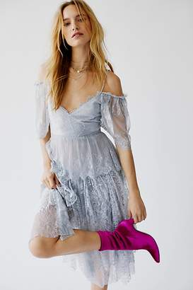 Free People Brenda Knight For Lace And Net Party Dress by Brenda Knight for