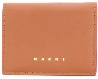Marni Logo Print Wallet
