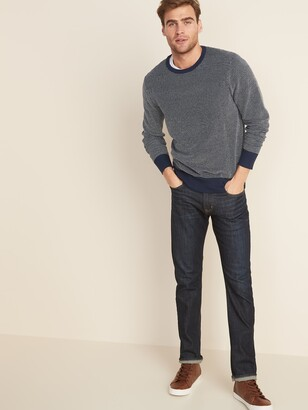 Old Navy Everyday Textured Crew-Neck Sweater for Men