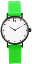 Ksana Neon Green Vegan Watch - 30mm