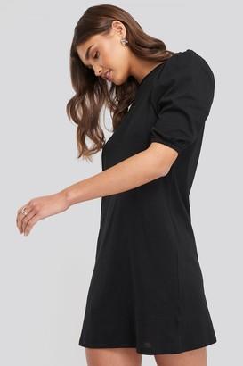 NA-KD T-shirt Puff Sleeve Dress