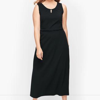 Talbots Jersey Maxi Dress- Solid