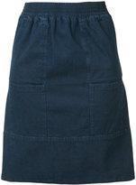 A.P.C. front pockets denim skirt - women - Cotton - 36