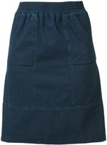 A.P.C. front pockets denim skirt