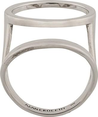 Alan Crocetti Double Hoop Ring