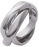 So Chic Jewels - Stainless Steel 3 Piece Russian Wedding Ring - Size 13