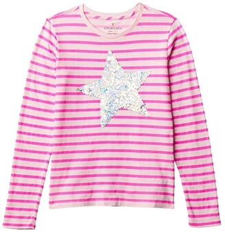 crewcuts by J.Crew Sequin Star Graphic (Little Kids/Big Kids) (Sequin Star) Girl's Clothing