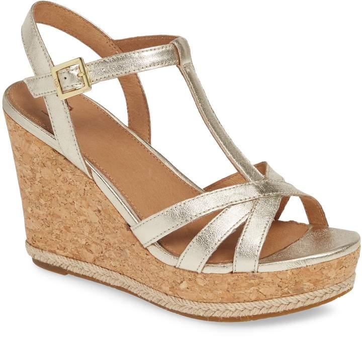 7211d5c4a14 Melissa Metallic Wedge Sandal