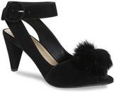 Seychelles Women's Seduce Genuine Rabbit Fur Pompom Sandal