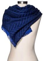 Merona Women's Blanket Scarf Blue/Navy