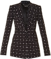 Givenchy Micro geometric-print tailored jacket