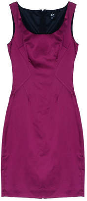 Dolce & Gabbana Fuschia Sleeveless Satin Cocktail Dress M