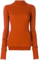 Theory wide rib knit sweater