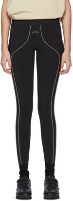 A-Cold-Wall* Black Piping Leggings