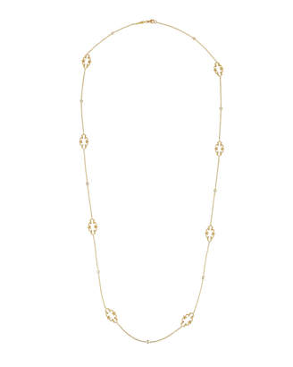 Penny Preville Arabesque Signature 18k Diamond Chain Necklace