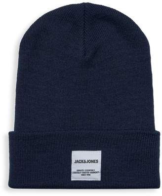Jack and Jones Contrast Large Cuff Beanie