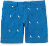 Polo Ralph Lauren - Embroidered Linen Shorts