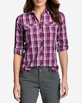 Eddie Bauer Women's Mountain Long-Sleeve Shirt - Plaid