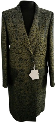 Max Mara Green Coat for Women