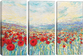 iCanvas Poppies of Oz by Iris Scott Giclee Print Canvas Art
