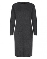 Jaeger Felted Angled Pocket Dress