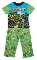 AME Sleepwear Little Boy's & Boy's Ninja Turtle Two-Piece Printed Tee & Pants Set