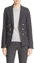 Veronica Beard Jet Faux Double Breasted Jacket