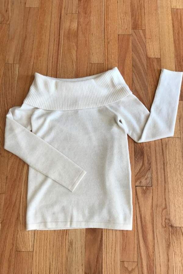 Minnie Rose Cowl Neck Sweater