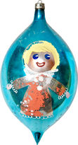 One Kings Lane Vintage Large Hand-Painted Ornament