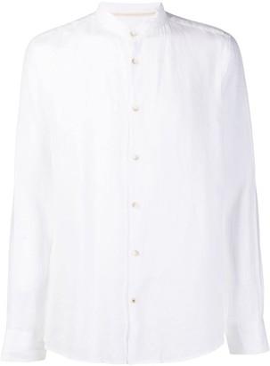 Seventy Long Sleeve Mandarin Collar Shirt