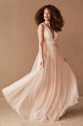 Jenny Yoo Sarita Dress By in Pink Size Us 26/uk 30