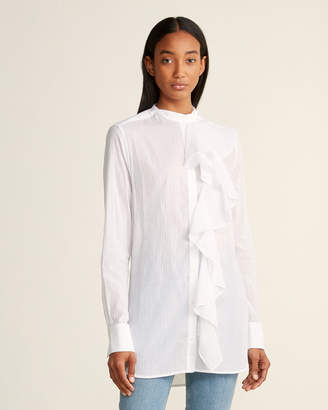 Faith Connexion Ruffled Cotton Tunic